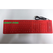 Teclado Flexible Numerico Usb 2.0 Laptop Pc Tableta Nuevo