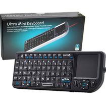 Mini Teclado Inalambrico Con Touch Pad Y Laser Ideal Smar Tv