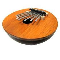 Kalimba Pulgar Piano - 7 Teclas - Ajustable - Coconut Shell