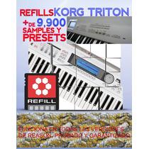 Refills Korg Triton Coleccion Completa La Mejor Para Reason