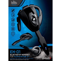 Bluetooth Headset Ps3,celular Gioateck Ex-01 Nuevo (jdc)