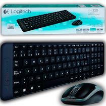 Kit Teclado Y Mouse Inalámbrico Wireless Logitech Mk220