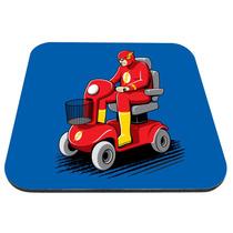 Mouse Pad Flash - Carrito Liga De La Justicia Comics Heroes