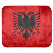 Bandera De Albania Alfombrilla De Ratón