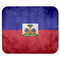 Haitiano Bandera Alfombrilla De Ratón