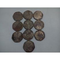 10 Monedas De 10 Pesos Hidalgos