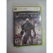 Juego Enemy Territory Quake Wars Xbox 360 Original