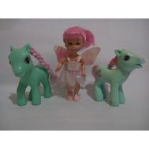 Muñeca Kelly Hada Y Sus Ponis Mágicos