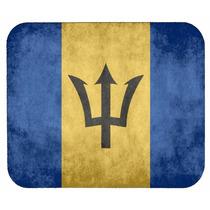 Bandera De Barbados Mouse Pad