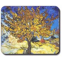 Van Gogh - Árbol De Mora Cojín De Ratón - Por Arte Plates®