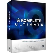 Komplete 10 Ultimate Plus Licencia Retail Original