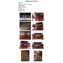 Steinway & Sons Square Piano, Impecable, Excelente Estado
