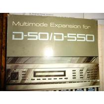 Roland D550 D50 Expansion De Memoria Tarjeta Korg Yamaha Skb
