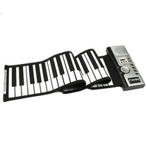 Teclado Midi Flexible Piano De 61 Teclas Plegable Audifonos