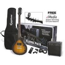 Combo Epiphone Guitar Pack Series Les Paul Unico