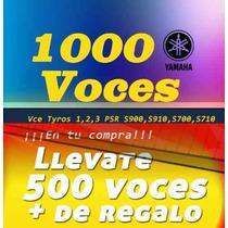 Voces Para Teclados Yamaha Adquierelo Ya + Envio Gratis