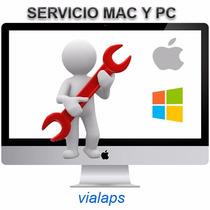 Servicio Reparacion E Instalación, Mac Y Pc