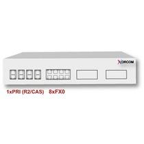Xorcom Xr3069 Puertos Telefónicos : 1 Pri + 8 Fxo