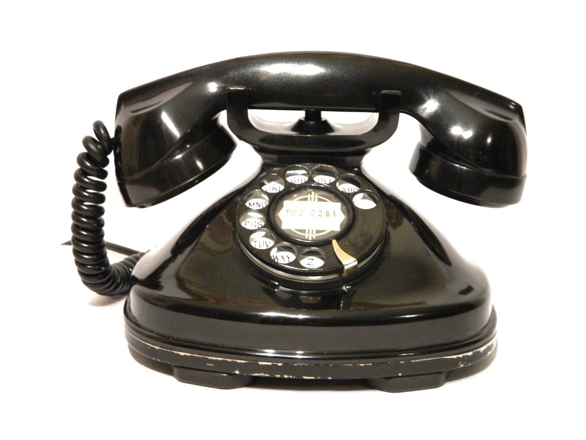 Teléfono Antiguo Stromberg Carlson Fat Boy De 1930