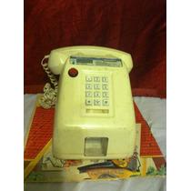 Telefono De Monedas Vintage