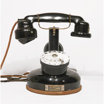 Telefono Antiguo Frances Marca Ptt Thomson Houston De 1925
