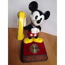 Teléfono Vintage Mickey Mouse 1976