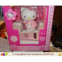 Sanrio Telefono Fijo Hello Kitty Con Alas Que Se Encienden