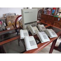 Paquete De Central Telefonica Panasonic Kx-t61610
