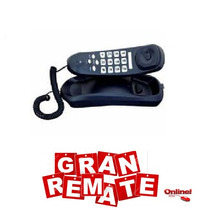 Telefono Alambrico Negro Nakazaki Mod. 8380