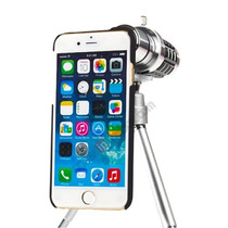 Lente Zoom Telescopio 12x Con Tripie Para Iphone 6
