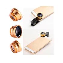 Kit De Lentes 3 En 1 Universal Iphone/sam/mot/htc + Regalo
