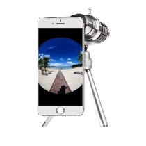 Lente Zoom Telescopio 12x Con Tripie Para Iphone 6 Plus