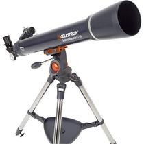 Telescopio Refractor De 700 Mm - Plateado