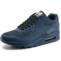 Tenis Nike Air Max 90 Premium Hyperfuse Azul Independence Gy