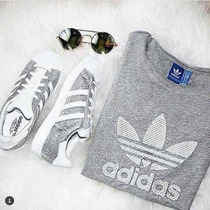 Adidas Concha Súperstar Silver Dama Original 2016 !!!