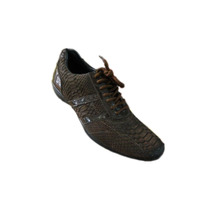 Zapato Teni Diseño Italiano En Piton