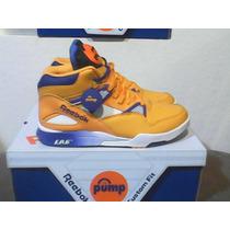 Tenis Reebok Pump Omni Zone Lakers 10.5us 28.5cm 8.5mex