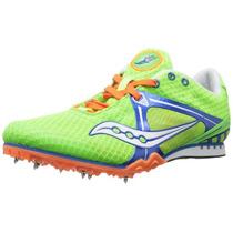 Spikes Saucony Velocity Para Atletismo Verdes