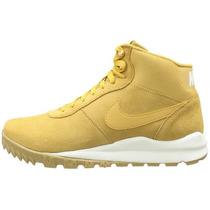 Botas Caminata Nike Air Acg Hoodland Suede Color Trigo Hm4