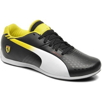 2014 Tenis Puma Evospeed 1.3 Ferrari Choclo Black White Gym