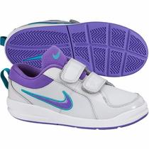 Nike Pico 4 Psv Geniales Tenis Niñas En 21.5 Cm
