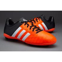 Tenis Futbol Adidas 15.4 Fxg Naranja Tacos Pasto / Sintetico