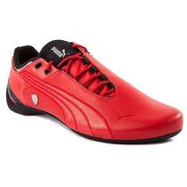 Tenis Puma Future Cat M2 Ferrari Mid Cat Total Red Hm4