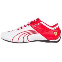 2014 Tenis Puma Future Cat M1 Ferrari Big Cat Blanco Roj Hm4