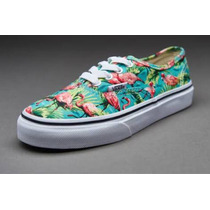 Tenis Vans Niña Authentic Flamingos