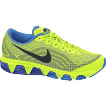 Corredores Tenis Nike Air Max Tailwind 6 Neon Volt Azul Gym