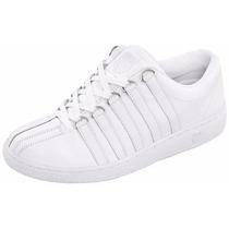 Tenis Clásicos Blancos Caballero K-swiss 26-31 A Meses