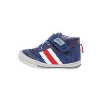 Mickey - Tenis Azul Tipo Bota Con Velcro - Azul - 4536-24