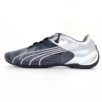 Tenis Puma Future Cat M2 Mid Cat New Graphic Plata Neg Gym