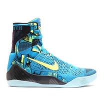 Tenis Nike Kobe 9 Elite Basquetbol #7.5 Azules